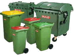 Waste container Cleaning
