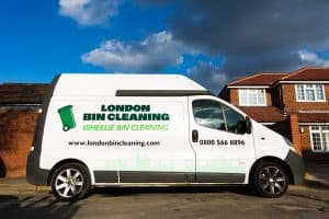 bin cleaning van
