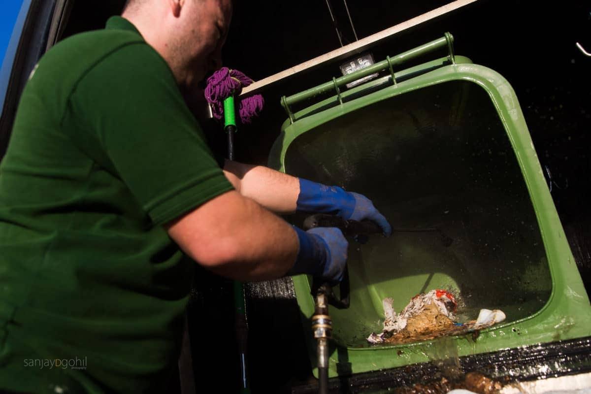 Ealing Bin cleaning