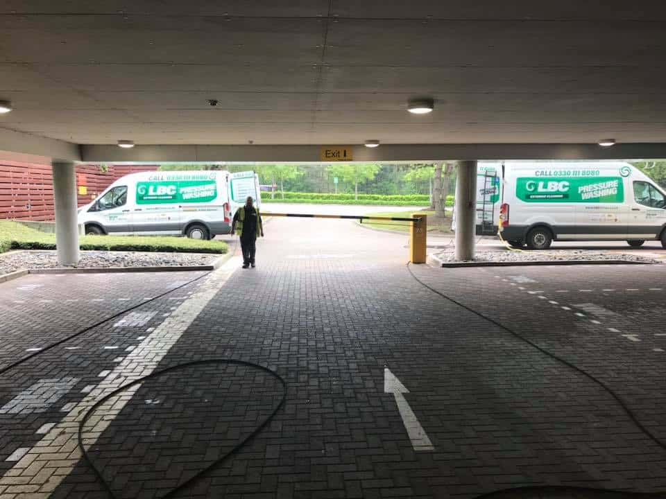 Car Park Cleaning Chiswick