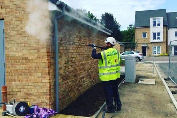 Brickwork cleaning company London