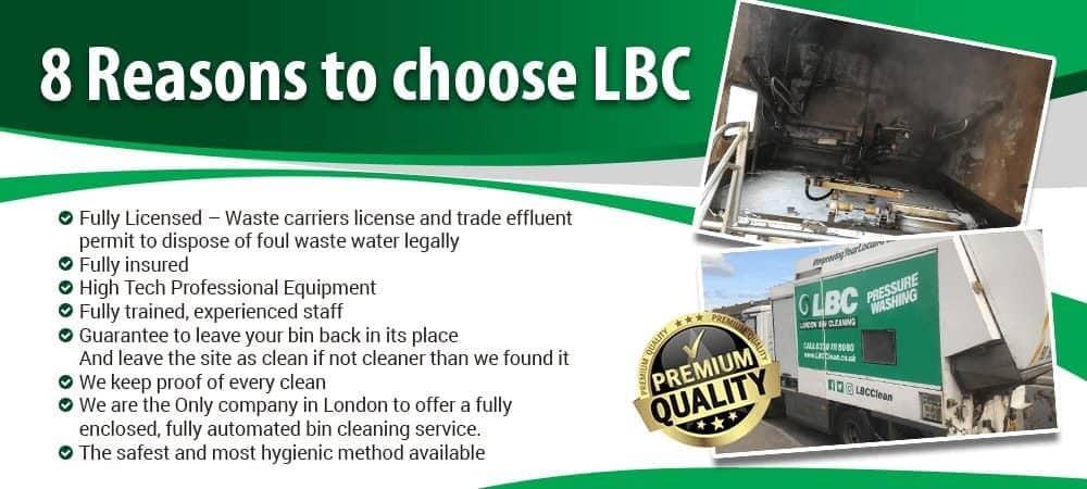 Reasons to Choose LBC