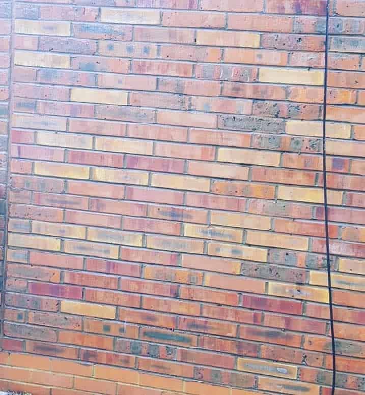 Graffiti removal from brickwork London