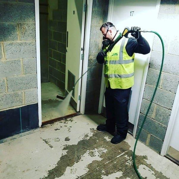 Bin Store Cleaning- Bin Room Cleaning