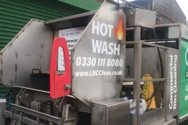 Hot Bin Cleaning