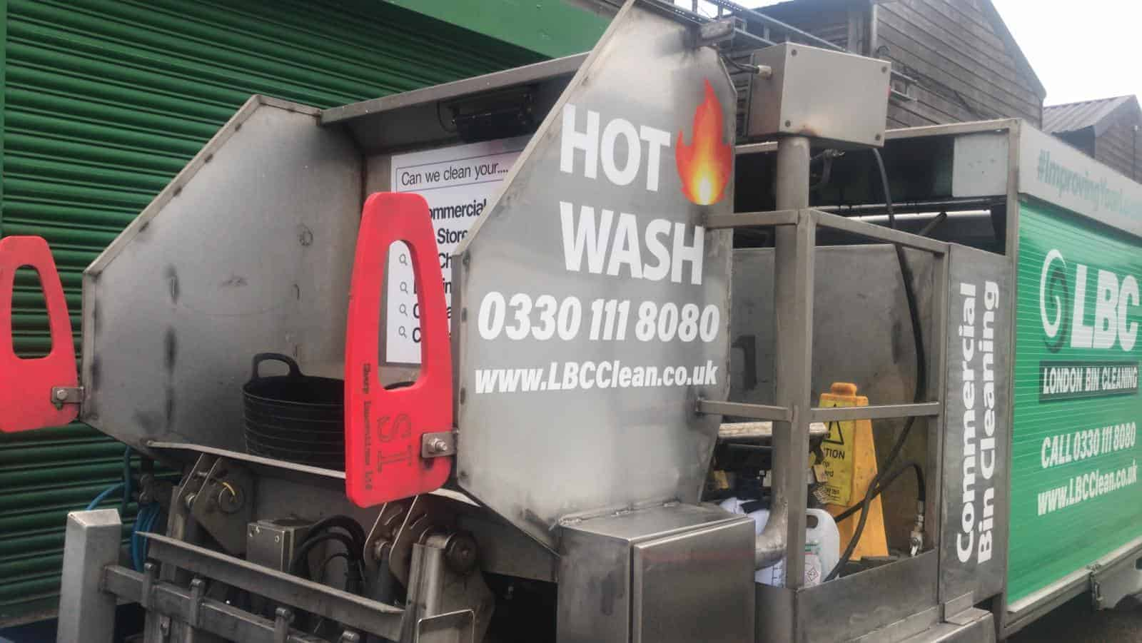 Hot Bin Cleaning