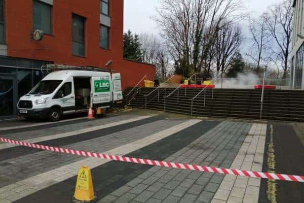 Communal Paving Cleaning