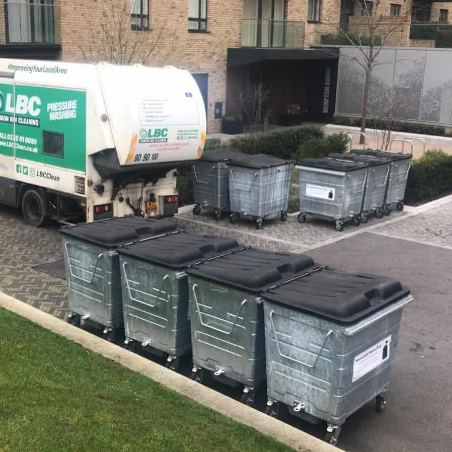 Commercial Bin Cleaning Brentford