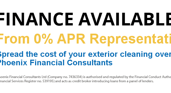 0% APR Roof Cleaning Finance