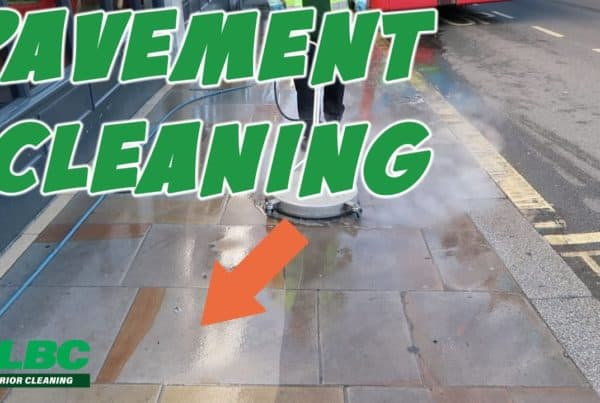 Steam Cleaning York Stone Pavement